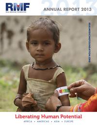 2013 annual report real medicine healthcare disaster relief non-profit
