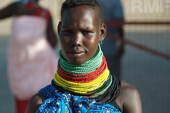 woman in turkana kenya