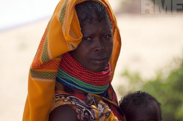 woman from turkana