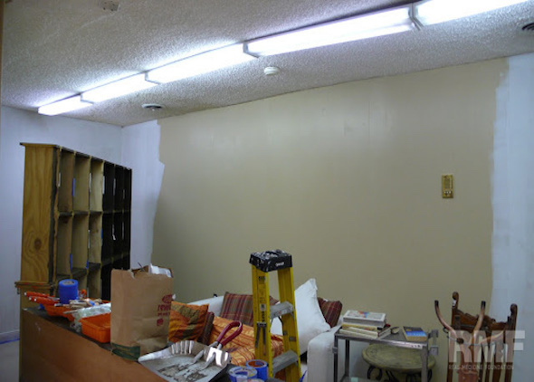 construction room remodel
