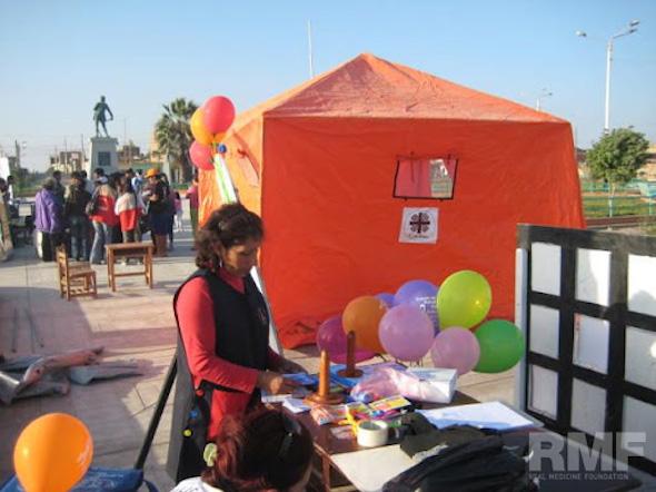 tents at a fair