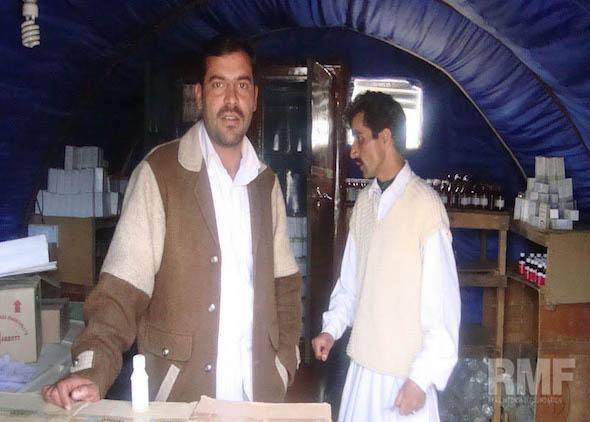men in the pharmacy in pakistan