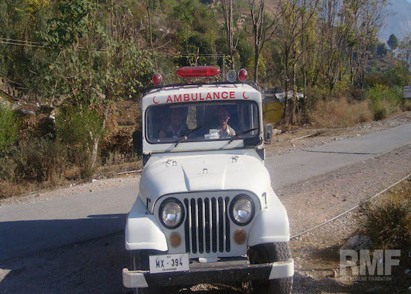 medical ambulance jeep in pakistan
