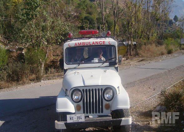 medical ambulance jeep in pakistan