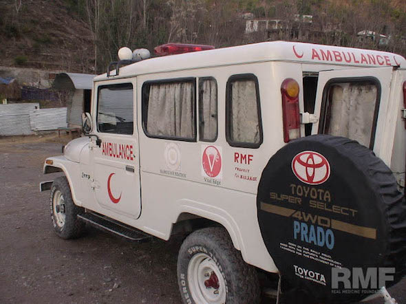 ambulance in pakistan
