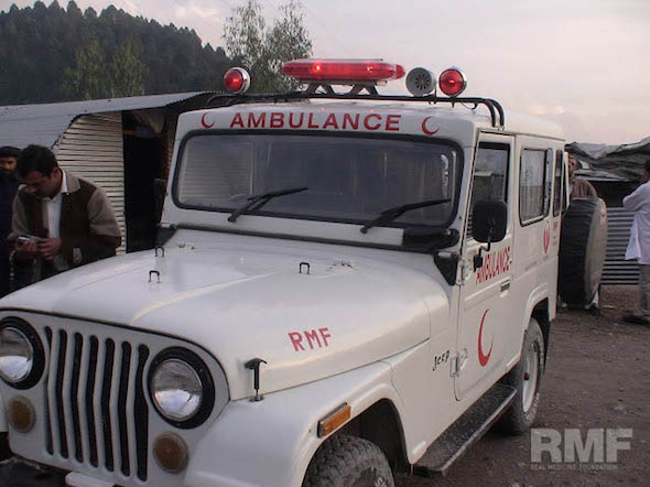 pakistan ambulance