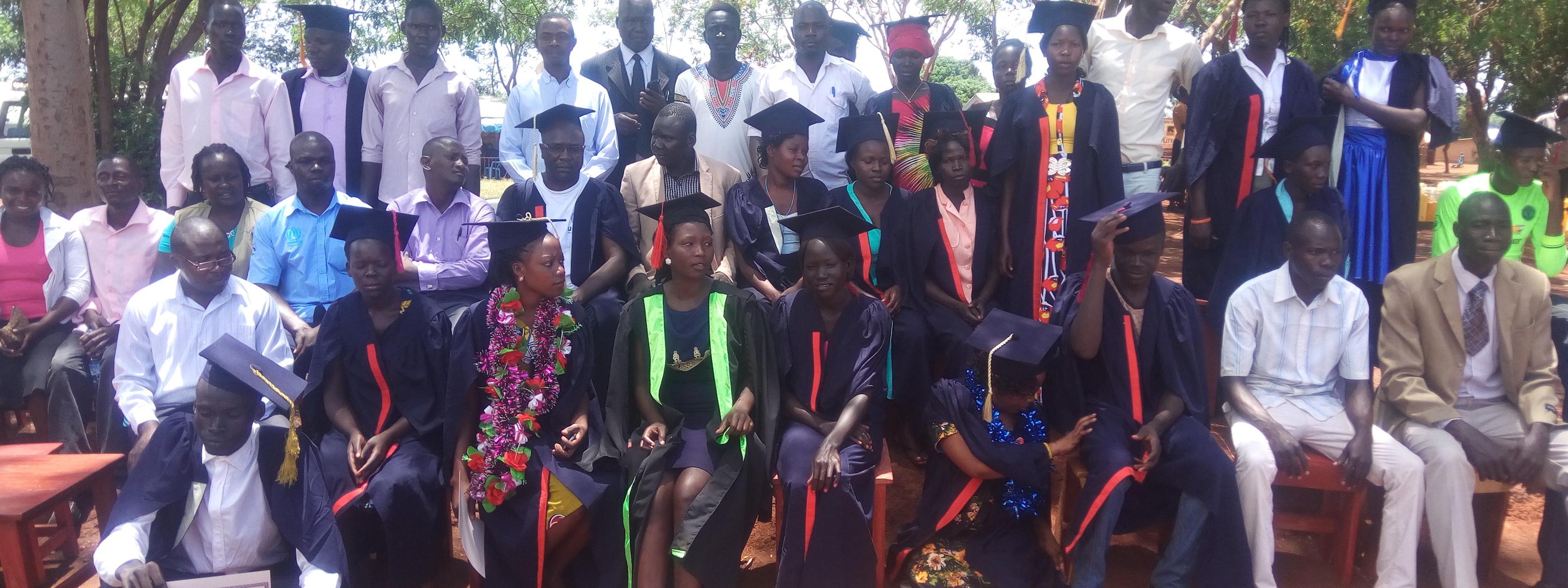 graduation in kiryandongo refugee settlement