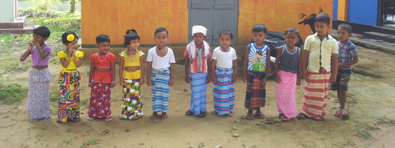 sri lanka children in preschool
