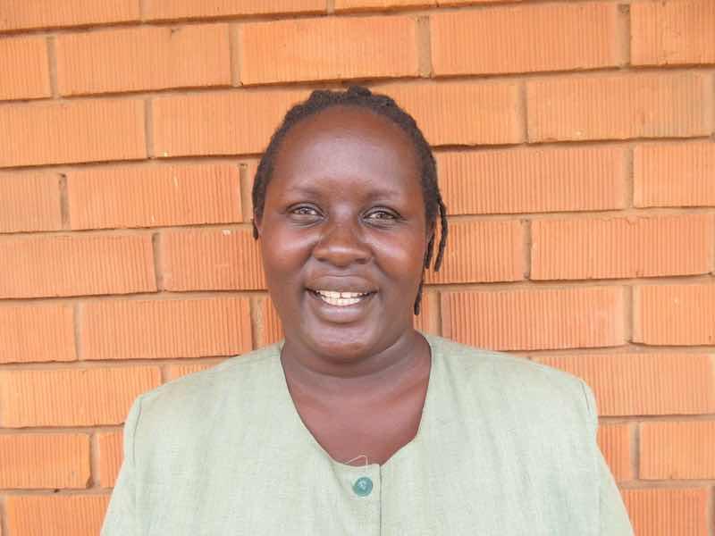 Caroline Tukugize, the well-loved RMF program manager for Kiryandongo Refugee Settlement